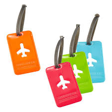 happy flight luggage tags the container store