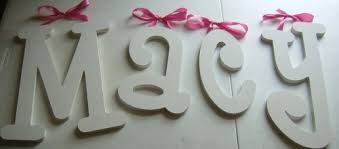 Decorative Wall Letters Nursery Baby Nursery Decor Macy Baby Nursery Letters Wall Simple Pink