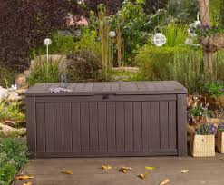 Garden Storage Bench Build by Pvblik Com Decor Patio Bench