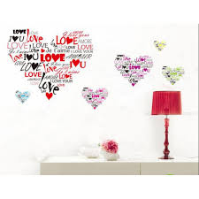 the sweet love heart sticker i love you in different language the sweet love heart sticker i love you in different language wall decal