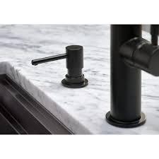 Brizo Solna Kitchen Faucet Brizo Rp79275bl Solna Matte Black Soap Dispensers Kitchen