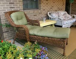 Wicker Chaise Lounge Wicker Sands Chaise Lounge W Cushions