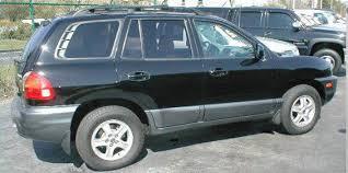 2002 hyundai santa fe v6 2002 hyundai santa fe used car pricing financing and trade in value