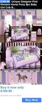 Pony Crib Bedding Western Bedding Goddess Pony Bedroom Pinterest