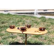outdoor wine glass holder table outdoor garden table patio furniture drinking game wine glass holder