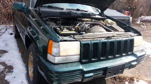 old jeep grand cherokee old start the jeep grand cherokee after 3 years youtube