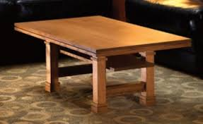 Woodworking Plans For Coffee Table by Frank Lloyd Wright Woodworking Plans Furniture U0026 Lighting Designs