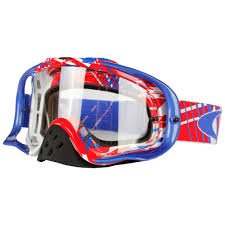 motocross goggles clearance oakley ryan dungey signature series crowbar mx goggle blue clear