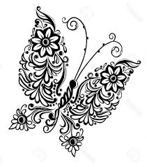 butterfly drawing designs how to draw a butterfly on a flower