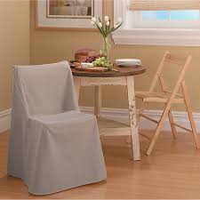 sure fit cotton duck short dining room chair slipcover