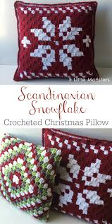 free pillow pattern for a crocheted corner to corner c2c