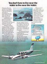 beechcraft aircraft advertisement gallery