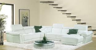 canapé d angle blanc cuir grand canape d angle cuir maison design wiblia com