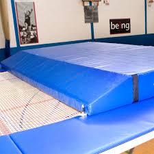 trampoline spotting crash mat