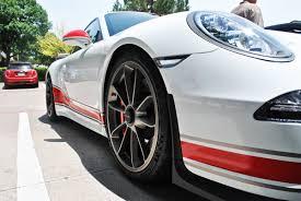 porsche gt3 gray gloss red matte grey porsche 911 gt3 stripes car wrap city