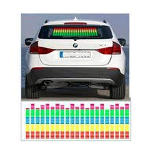 led lights for cars store equalizer pattern music rhythm led light for car rear window