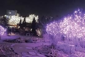 Botanical Gardens Christmas Lights by Mile High City Denver Celebrates Holidays U2013 Fort Carson Mountaineer