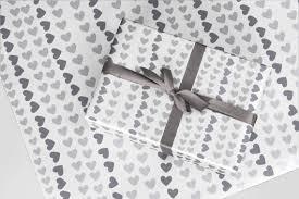 heart wrapping paper heart wrapping paper 2x a2 sheets
