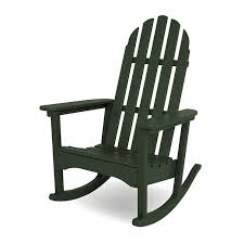 Recycled Plastic Rocking Chairs Outdoors Rocking Chairs Adirondack Rocking Chair Polywood Recycled