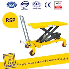 mobile manual mini hydraulic scissor lift table 800kg 1m buy