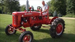 farmall b tractor youtube