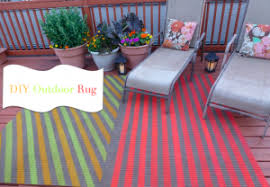 Diy Outdoor Rug With Fabric Diy Allure Interiors