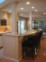 Kitchen Island With Posts Kitchen Island With Pillars Luxury Best 25 Kitchen Columns Ideas