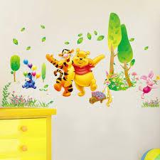 décoration winnie l ourson chambre de bébé decor winnie the pooh wall inspirations et étourdissant stickers
