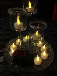 used wedding decorations 12 flameless battery operated tealight candles these are great