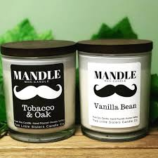 black label hair mandle black label aka man candle two little sisters candle co