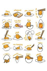 Meme Stickers For Facebook - gudetama the lazy egg now has facebook stickers hypekids
