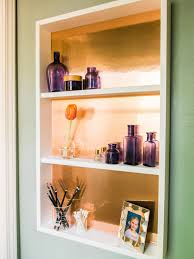 Hanging Pictures How To Build Hanging Copper Shelving How Tos Diy