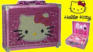 vanity for child hello kitty special edition cosmetic case makeup box for kids