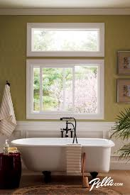 Window Treatments For Small Bathroom Windows With A Low Maintenance Design That U0027s Easy To Open For Ventilation