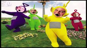 Teletubbie Halloween Costume Mutant Teletubbies Sing Original Witch Doctor Song Snv