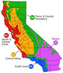 california map regions invasive plant list plantright