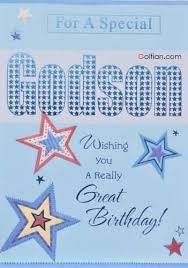 60 beautiful birthday wishes for godson u2013 best birthday image