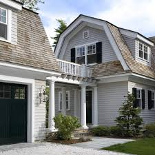 large garage large garage house exterior victorian with light gray exterior