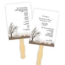 Wedding Programs Fans Templates Programs Fan U2013 A J U0027s Prints