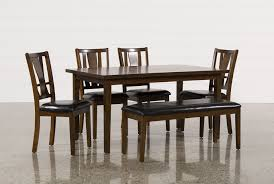 Dining Tables And 6 Chairs Sale Madden 6 Piece Dining Set Living Spaces