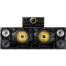 Patio Sound System Design by Samsung 2300w Giga Sound System With Bluetooth Mx Hs7000