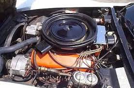 1973 corvette engine options the 70s