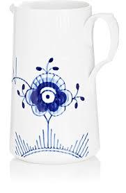 royal copenhagen blue fluted mega porcelain modern jug barneys
