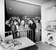 power positions dirty furniture these democratic and technocratic aspects made the postwar kitchen perfect setting for richard nixon nikita khrushchev debate