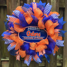 florida gator fan gift ideas shop football wreath on wanelo