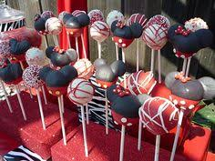 mickey mouse cake pops how to do basic shape kaity u0027s