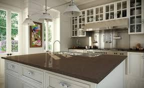 comptoir de cuisine quartz blanc design interieur comptoir cuisine quartz îlot fonctionnel placard