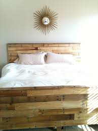 playing house so we made our bed out of pallets