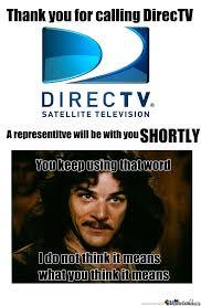 Direct Tv Meme - directv is inconceivable by theduke meme center