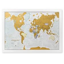 travel world map scratch the world scratch places you travel map print